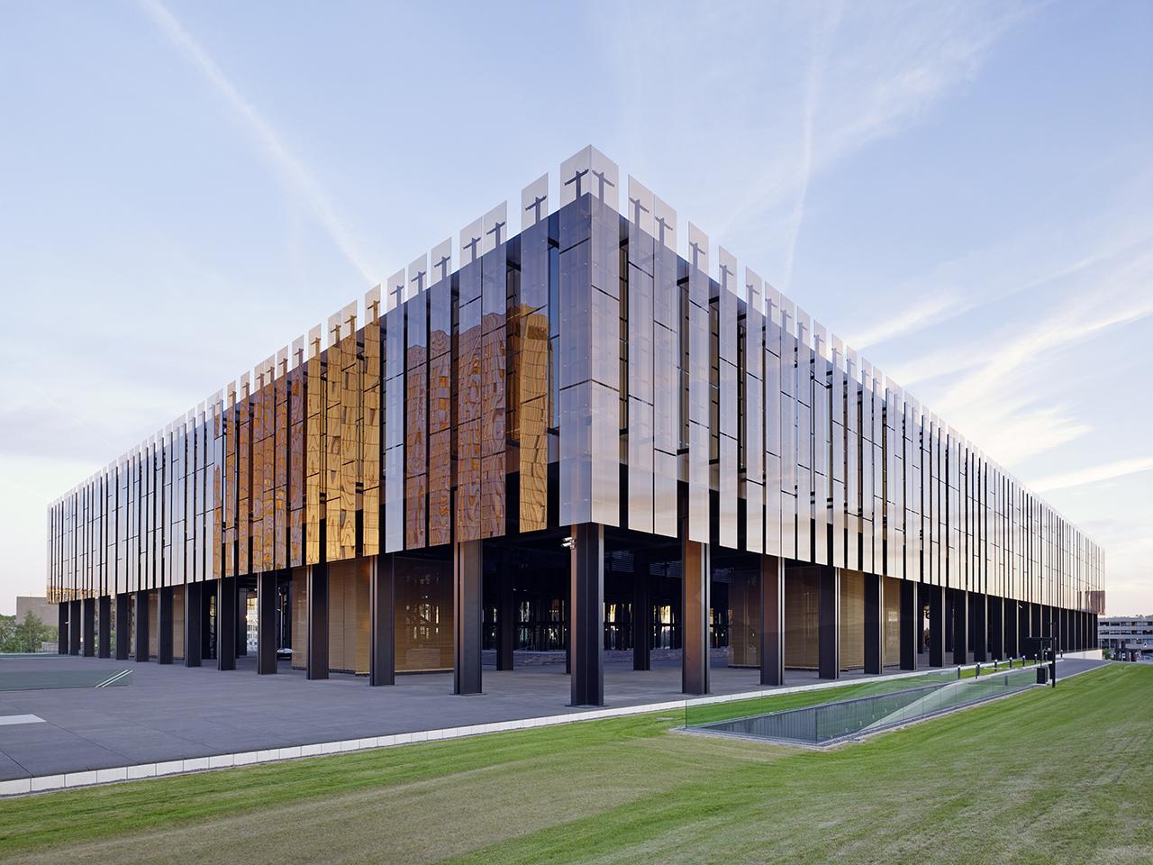 Ssp europ ischer gerichtshof luxemburg - Architekten luxemburg ...