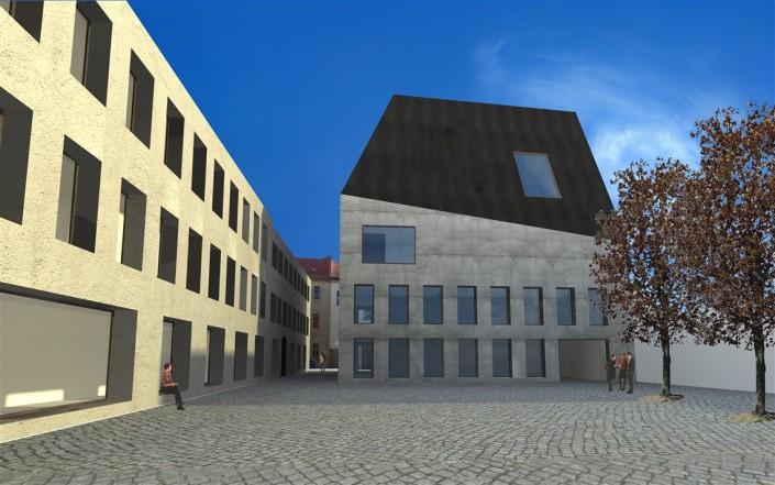 Wettbewerb Schlossplatz Freiberg