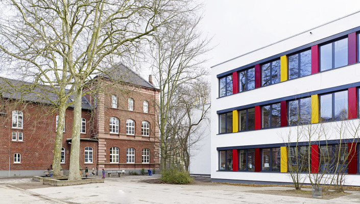 Umbau und Erweiterung der Albert-Schweitzer-Realschule, Krefeld, SSP Architekten