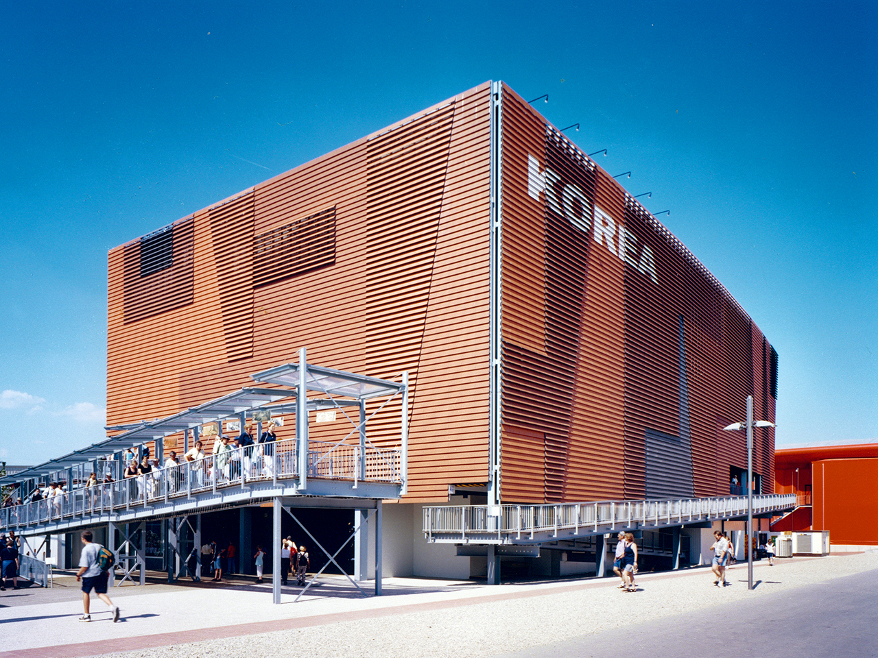 ssp expo 2000 korea pavillon hannover. Black Bedroom Furniture Sets. Home Design Ideas