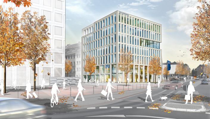 Erweiterung Hauptstelle Volksbank Erkelenz, SSP Architekten, Bochum