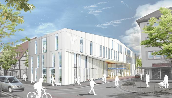 Hauptstelle Volksbank Lippstadt, SSP Architekten, Bochum