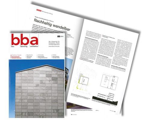 bba bau beratung architektur 7|8 2014 Blue Office Bochum