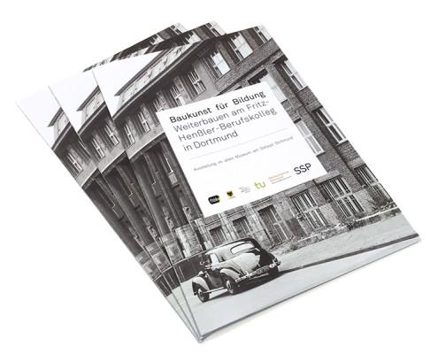 Baukunst für Bildung, Ausstellungsbooklet, SSP Architektur