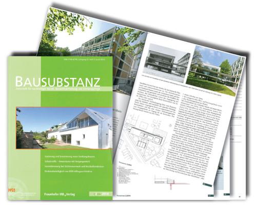 Bausubstanz Artikel Forschungszentrum BiK-F