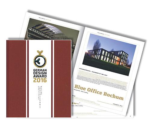 Buch German Design Award, Blue Office Bochum, SSP Architekten Bochum
