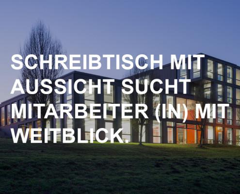Stellenausschreibung, Stellenanzeige, SSP Architekten Bochum