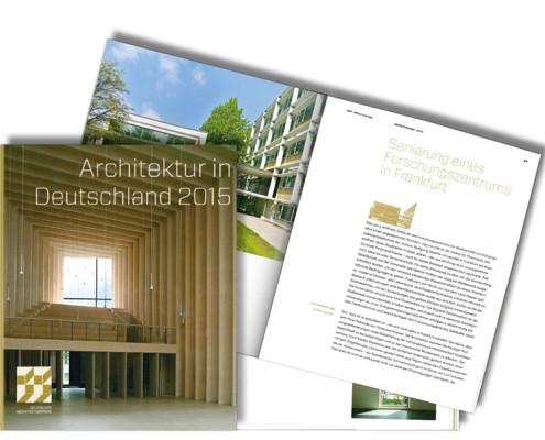 Deutscher Architekturpreis 2015, Forschungszentrum BiK-F, SSP Architekten Bochum