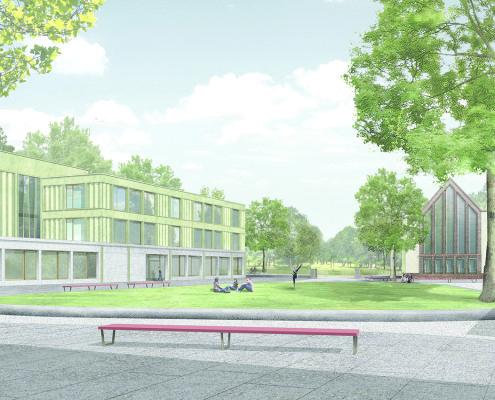 Erweiterung und Umbau Gymnasium Leipzig, SSP Architekten, Bochum