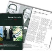 Publikation, Beton Bauteile DBZ 2016, SSP Architekten Bochum