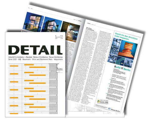 DETAIL 1/2, Serie 2002, Technologiequartier Bochum, SSP Architektur