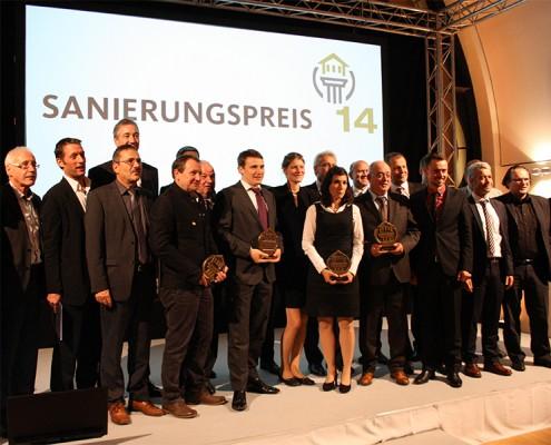 Preisverleihung Sanierungspreis 2014