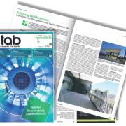 tab TGA Magazin, Technologie- und Bildungszentrum Köln , SSP Bochum