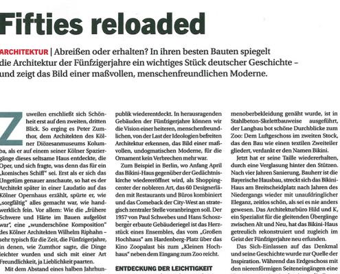 Wirtschaftswoche Artikel, Forschungszentrum BiK-F, SSP Architektur Bochum