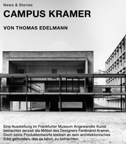 """Titelbild Artikel """"Campus Kramer"""""""