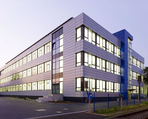 Laborgebäude mit LEED Zertifizierung