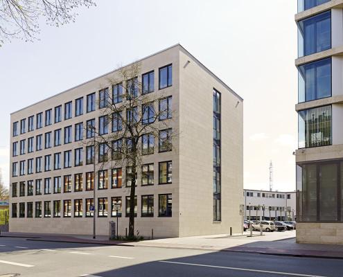 NRW Bank Münster, Architektur SSP, Bochum