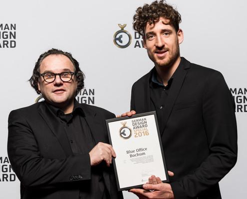 German Design Award 2016, Blue Office Bochum, SSP Architekten Bochum