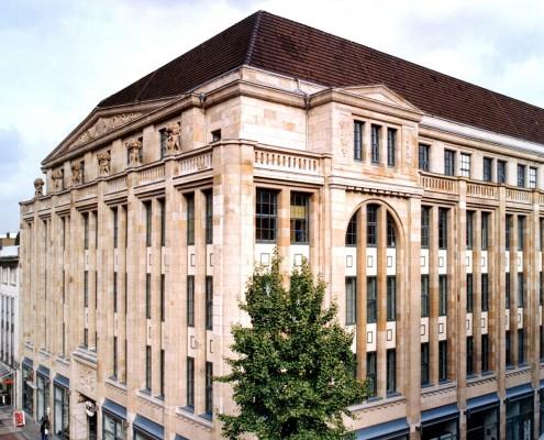 Umbau Kaufhaus Kortum