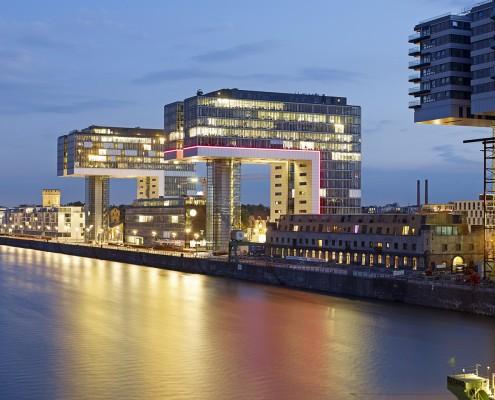 Kranhaus 1 im Rheinauhafen