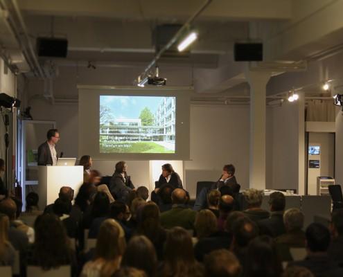 AIT Salongespräch in Köln - Matthias Solbach präsentiert das ausgezeichnete Projekt BiK-F.