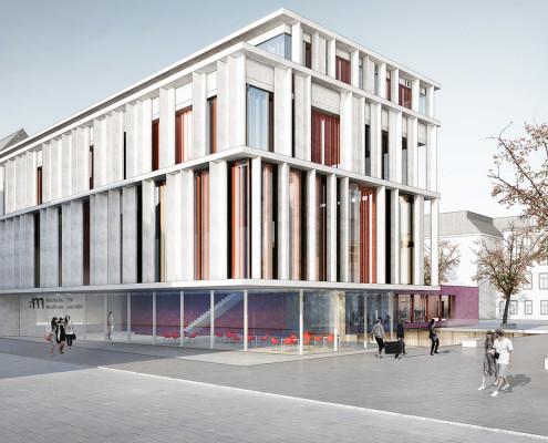 Campus Hochschule Musik und Tanz Köln, SSP Architekten, Bochum