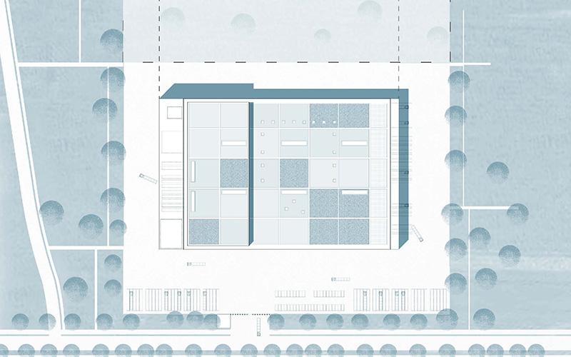 BMW Group Flex-Hub (Im)mobilienkonzept, Lageplan, SSP Architekten Ingenieure Bochum