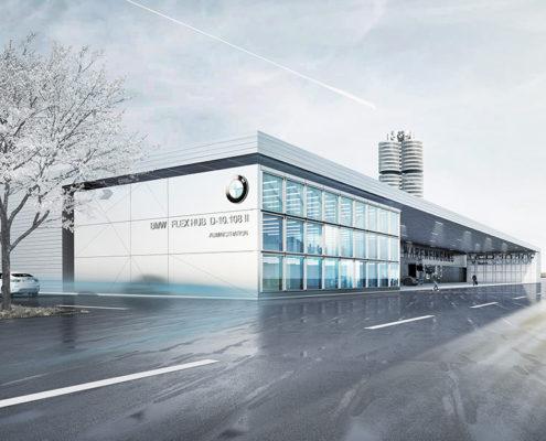 BMW Group Flex-Hub (Im)mobilienkonzept, SSP Architekten Bochum