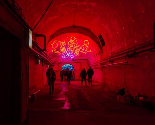 Betriebsausflug 2015, Zentrum für Lichtkunst Unna, SSP Architekten, Bochum