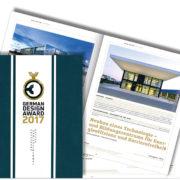 Publikation German Design Award 2017, SSP Architekten Ingenieure Bochum