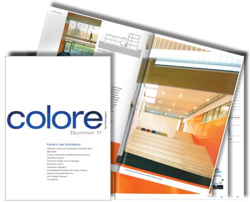 COLORE Blue Office 2015, SSP Architektur
