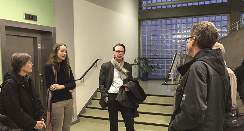 DAM Architekturführung Ferdinand Kramer, Linie Form Funktion, SSP Architekten Bochum
