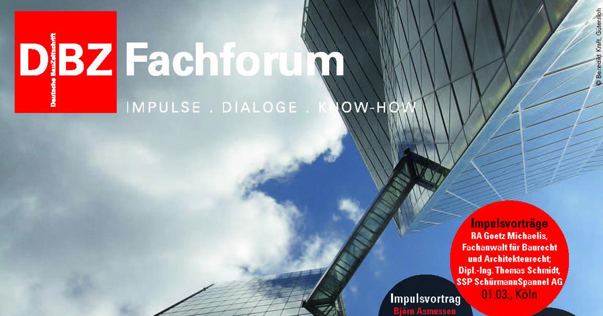 DBZ Fachforum Gebäudehülle 2016, Hyatt Hotel Köln, SSP Architekten Bochum