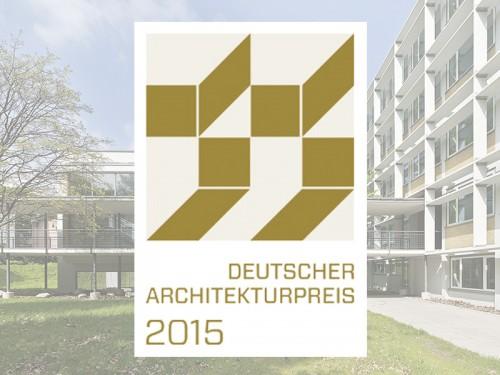 Deutscher Architekturpreis 2015, Forschungszentrum BiK-F, SSP AG, Architektur Bochum