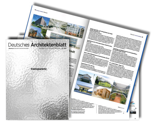Deutsches Architektenblatt, AKNW Architektenkammer NRW, SSP Architekten Ingenieure