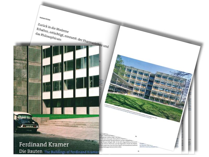 Buch Die Bauten von Ferdinand Kramer, Ferdinand Kramer, SSP Architekten, Bochum