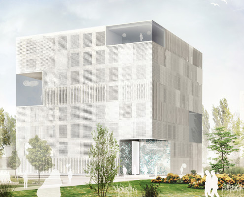 Neubau Forschungsgebäude Helmholtz-Zentrum für Umweltforschung (UFZ) Leipzig, SSP Architekten Bochum