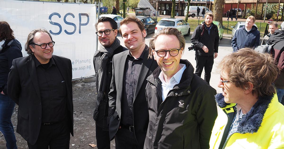 Grundsteinlegung Fritz-Henßler-Berufskolleg Dortmund, SSP Architekten Bochum, Integrale Planung