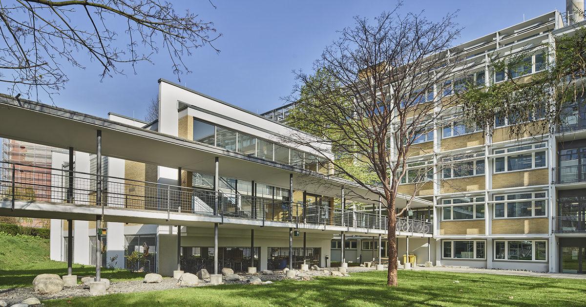 Forschungszentrum BiK-F, Ferdinand Kramer, Frankfurt am Main, SSP Architekten Bochum