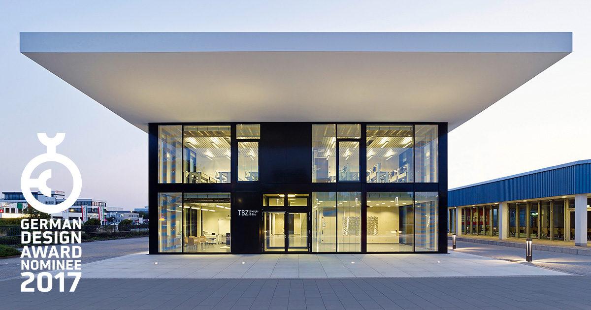 German Design Award 2017, Nominierung TBZ Bildungszentrum Butzweilerhof Köln, SSP Architekten Bochum