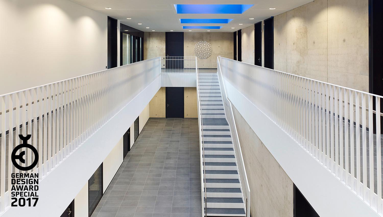 German Design Award 2017, TBZ Bildungszentrum Handwerkskammer zu Köln, SSP Architekten Bochum