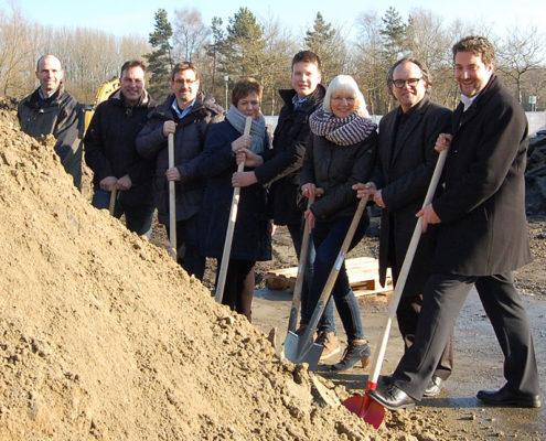 Grundsteinlegung Von Zumbusch Gesamtschule Herzebrock Clarholz