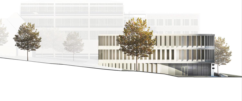 WBW Musikschule Luedenscheid, Ansicht Nord, SSP Architekten Ingenieure Bochum