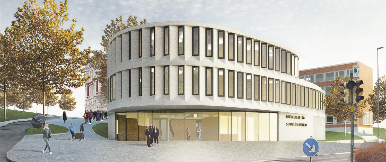 WBW Musikschule Luedenscheid, Aussenvisualisierung, SSP Architekten Ingenieure Bochum