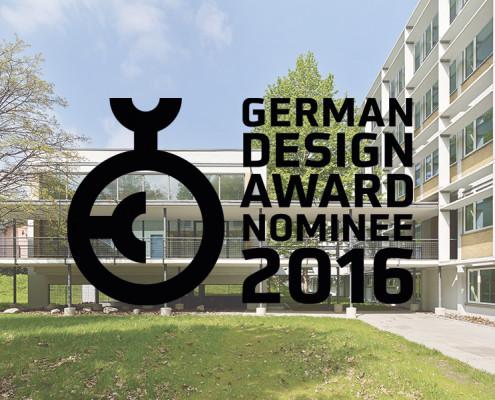 German Design Award 2016 - Nominierung für das Forschungszentrum BiK-F, SSP Architektur