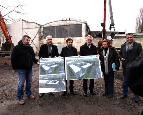 Auftakt für das Ausweichquartier Fritz-Henßler-Berufskolleg Dortmund