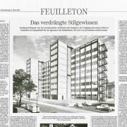 Süddeutsche Zeitung Artikel Forschungszentrum BiK-F, SSP Architektur Bochum