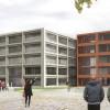 Entwurf Walter Eucken Schule Karlsruhe, SSP Architekten Bochum