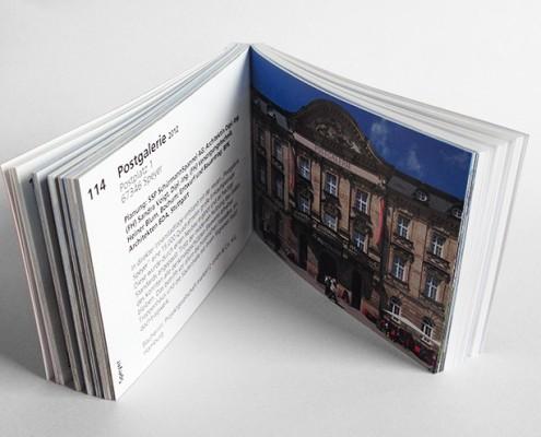 Broschüre Tag der Architektur Postgalerie Speyer