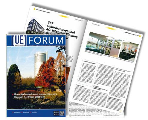UE Umwelt und Energie Forum Magazin, SSP Architekten Bochum